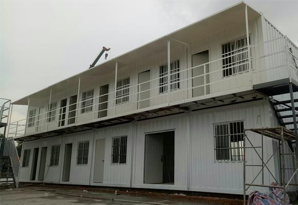 龙泉集装箱活动房施工搭建