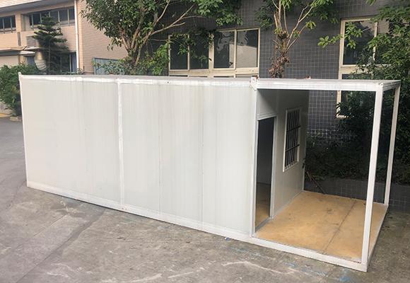 平板集装箱房