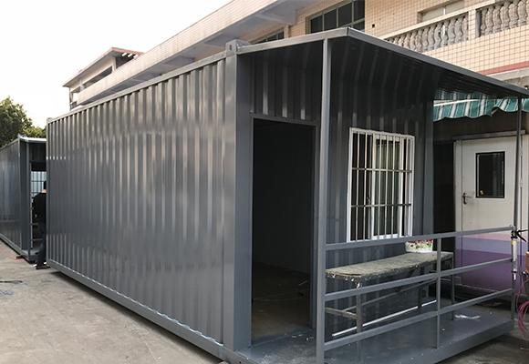 波浪式住人装箱